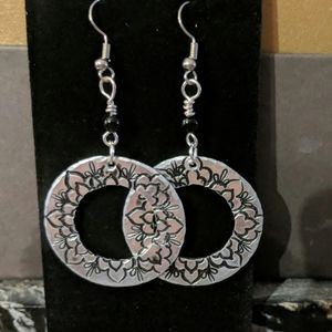 Gorgeous Hand Stamped earrings